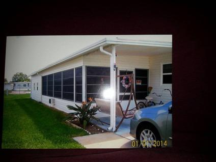 $13,000 2bdrm mobile home in florida with large florida room and laundry room adult com