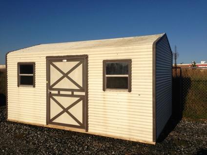 $1,395 10x16 Metal Storage Building