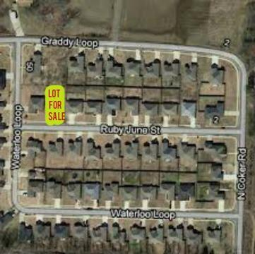 $17,500 Lot in Vilonia Subdivision with sidewalks/curbs