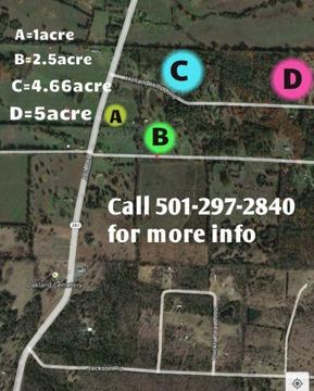 $17,800 Land for Sale- east of Pickles Gap, NE of Conway Arkansas
