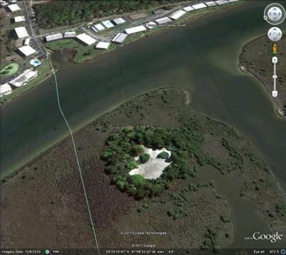 $199,900 Only one Private island for sale in Ormond Beach Fl Atlantic Intracoastal Waterw