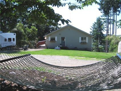 $215,000 Puget Sound View Home on Acreage
