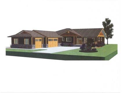 $319,500 Handsome new rambler on level 1+ acre lot. Floor plan features great room design