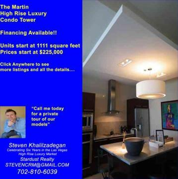 $320,000 Financing Available The Martin High Rise Condo Tower (3M in upgrades to common