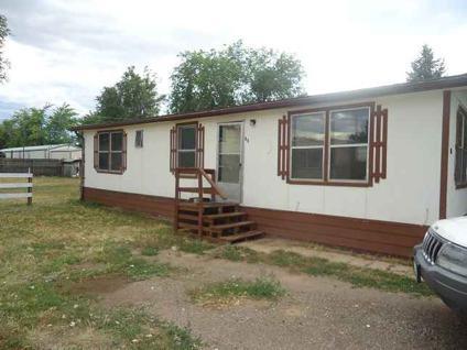 $60,900 Brighton, 3 bedroom, 2 bath, manufactured home in Lochbuie.