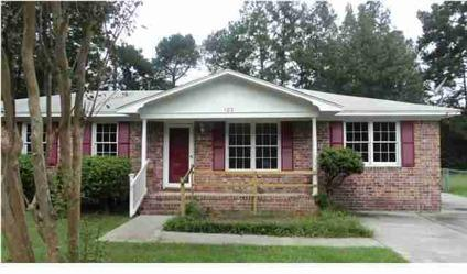$80,000 Summerville 3BR 1BA, This home is in a convenient location