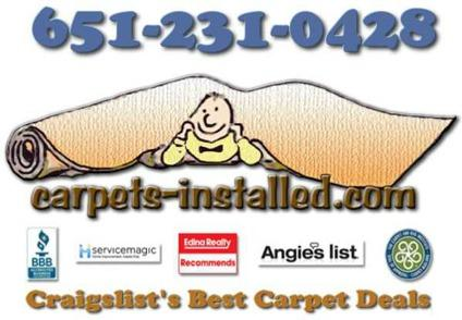 Carpet Sales and Installation ~ Twin Cities Best Carpet Deals (Get Your Best