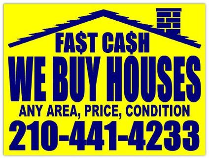 We Buy Houses, AS IS!!! No Realtor Commissions!!! **CA$H**
