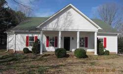 Nice country home on 1.45 acres in excellent location. Home futures 2 bedrooms and 2 bath , smooth ceilings, large walk in closets, separate dining room and office. Large front porch with columns. Also place for summer furniture and grill on back yard.