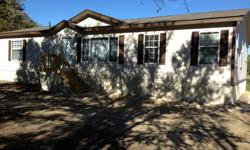 3bed/2bath, doublewide mobile home + 1 acre of land, close to downtown Terrell, TX, new siding, appliances and central A/C included, private country road, mature shade trees