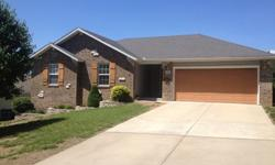 Great house in Ozark. 3 bed 2 bath; 1350 sqft. Very open living/dining/kitchen area. Large lot (1/4 acre). Brick front. Very quiet neighborhood with a country feel but still very close to everything. No other houses in front of or behind, only next to.
