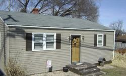 2 Bedroom house with fenced in backyard in the Fort Defiance school district. Great starter house!