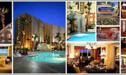 This hotel is 6 miles from the Las Vegas Strip and next to South Point Casino. It features an outdoor pool with waterfall and all suites come with a full kitchen. Guests of The Grandview at Las Vegas can relax in a spacious one or two-bedroom suite with