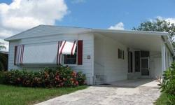 New A/C unit 2008, new shingled roof after the hurricane, upgraded appliances, wood laminate floor from the front door through the kitchen. This home is offered unfurnished except for a few pieces of patio furniture in the screened porch. NON-PET SECTION