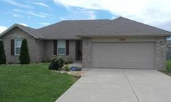 Fantastic home less than 10yrs old in rogersville, mo! Rhett Smillie has this 3 bedrooms / 2 bathroom property available at 151 Lace Bark CT in Rogersville for $110000.00. Please call (417) 880-1000 to arrange a viewing.