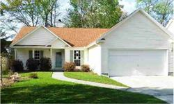 Ask about $100 down payment incentive offered by seller! Great room has vaulted ceiling and fireplace. Split bedroom floor plan. Screen porch overlooks the privacy fenced backyard. This home is waiting for you to add your touches! Property sold as-is, no