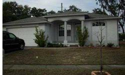 SHORT SALE, ACTIVE WITH CONTRACT Tarpon Springs Beautiful 3 bedroom, 2 bath, 2 car garage built in 2003 home on corner lot. Volume ceilings, split plan no appliances convey. no rear neighbors in Cypress Park subdivision. Close to shopping and schools. M