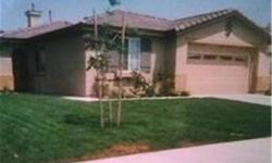 Lovely one story home located at the base of the SanJacinto Mountains...lovely view. In good condition and front and back landscaped. A must see! To get pre-qualified please call David Lara at (949) 306-1267 or email at (click to respond), NMLS