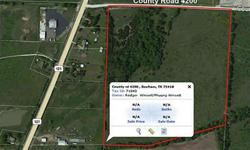 Approximately 42 acres of land that can be used for pasture, farming, developing or just investing.