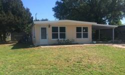 Contact me today and don't miss out on this 840 Sq. Ft. 3 Bed / 1 Bath / 1 Car Port home located in Sarasota Springs. This home has already had some improvements done as you can see in the pictures. Roof & A/C are in good condition, Natural Polished