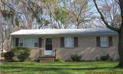 "***OWNER FINANCING*** We want to owner finance this wonderful, well kept-up, 3 bedroom 1.5 bath Pretty Brick Rancher...newer a/c , beautiful hardwood floors, ""not distressed by any means""...Super large fenced in back yard...very nice neighborhood, even"
