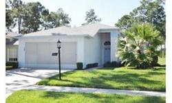 Spacious 3BR, 2BA single family home in upscale Heritage Pines 55+ Active Adult Community. Large great room, open to the kitchen, with vaulted ceiling, plant shelf, and access to the screened lanai and landscaped yard beyond is ideal for entertaining and