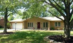 Updated brick ranch on a large privacy fenced corner lot. Upon entering note the mosiac tile accent. To the left is a large formal dining room that could be used as an office or play room. The family room is open to the efficient kitchen with breakfast