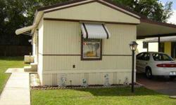 This adorable home features an open concept living area, built in dishwasher in the kitchen, decent size bedrooms and great closet space. Shed houses the washer & dryer as well as an additional refrigerator. Partially furnished, including some housewares