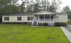 Beautiful 4 bedroom manufactured home on a half acre convenient to Summerville and I-26. This home has been completely renovated and is in like-new condition. Quiet neighborhood. 2000+ sq. ft. Price works out to 60.00 per square foot. 843-814-6215