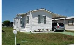 REALLY LOVELY 2005 FULLY FURNISHED 14X28 MODULAR HOME. ALL THE BELLS & WHISTLES. VERY NICE SCREEN & VINYL ENCLOSED PORCH WITH UTILITY SHED. A/C APPROX 7 YRS OLD. WALK TO POOL - CLOSE TO ALL AMENITIES - BEACH, SHRIMP DOCKS, CHURCHES, SHOPPIN G. ACTIVE 55+