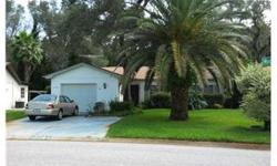 Lovely 3/2/1 with huge lanai and in ground screened pool, privacy abounds, move in condition, all applicances included, lanai wired for hot tub. Lush landscaping, lots of storage, eat in kitchen, pool bath from master leads to pool and hot tub area.