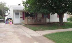 Nice, updated one-level home. Updated kitchen cabinetry, central air, newer laminate flooring and tiled shower surround. Back yard almost entirely fenced. Original third bedroom converted in a larger second bedroom and the entire additional serves as a