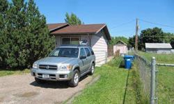 Home close to city services, 3 bedrooms, 1 bathroom. Fenced back yard, large deck and shed.Listing originally posted at http