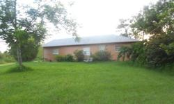 For Sale House with 8.93 acres 130,000- 3/2 with 4th room for office or den 1676sqft. Wood Floors, Metal Roof. Laudry room in house. 3 acres cleared and small pond for fishing. Title work ready to close at C&C Title In Sebring. House is Located on W.