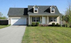 This cape cod style home situated with a large fenced-in backyard features 3 bedrooms, 2 full baths, main-level master suite, eat-in kitchen with all appliances, bonus room, plus 2-car garage. Located just outside city limits of Cookeville and accessible