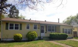 Great starter ranch home great for 1st time homebuyers, downsizing or invest. property. 5 mins to I-64, Norfolk Naval Base and Little Creek. Located at dead end street doors down from Culdesac. Home features front porch, great for patio furniture &