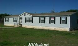 A Large, Wonderfully Conditioned, Double-wide Home with 8 Acres of land4 bedrooms2 bathrooms2128 square feet homeComes with also a nearby shed/barn and hitching postSome appliances availableCall