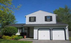 Vacation at home this summer. This lovely, one owner Royal Anne model split level has a huge fenced yard with an inviting in ground pool for summer fun. Inside you'll find an open floor plan, with the kitchen over looking the family room which features a
