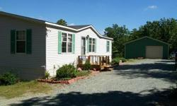 """2/2 HOME WITH DEN WITH FIREPLACE ON 10 ACRES. VERY SECLUDED. DECK OVERLOOKING BEAUTIFUL MOUNTAINVIEWS. 24 X 30 GARAGE. BIG GARDEN AREA, LOTS OF WILDLIFE. """"LEESVILLE LAKE ACCESS"""" AND ONLY 15 MINUTES TO SMITH MT LAKE. ONCE YOU SEE YOU WILL FALL IN LOVE"""