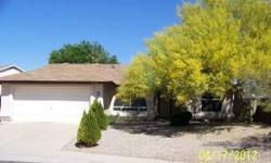 Very nice 3bd/2ba home in a great Glendale neighborhood. This popular split floor plan features tall vaulted ceilings & a huge great room. The kitchen features modern counters, eat in kitchen. The master features an exit to the back yard, walk-in closet,