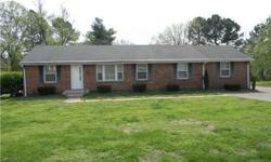 Storage Galore! All Brick, Well Maintained-Same Owners 44 Yrs, Huge Den, Wood Burning Fire Place, RV Size Carport w/RV Sewer Drain, 24X29 Heated Garage Work Shop, XL Utitily Room w/Sink, Fenced Yard. Hardwoods under carpet in LR-BRMS. 1yr Home Warranty!