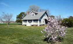 Come and enjoy this cute as a button home on one acre surrounded by farmfields and one mile from county boatramp at morley's wharf. Blue Heron Realty Co. is showing 9219 Occohannock Neck Rd in CAPE CHARLES which has 3 bedrooms / 2 bathroom and is