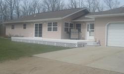 3 Bedroom 2.5 Bathroom Home on 5 Acres in Bagley Area. 3 Miles North of Town. 1,512 square feet on one level. 2 stall heated attached garage. Hardwood and Tile Flooring throughout. Open floor plan. Call 218-694-3897