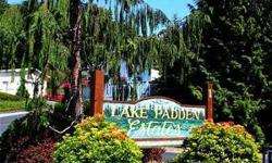 1995 manufactured home on its own land. 3 beds, 2 full baths, 1510 sq ftMaster bedroom and bath has two(!) walk-in closetsSpacious living room/dining room area for great entertainingLarge deck with remote-controlled awning provides view of Lake Padden