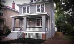 This beautiful 3 bed 2.5 bath American Foursquare home is located on a quiet Northside RVA street. It has been beautifully renovated with many features & upgrades. Some of its many features include refinished original hardwood flooring, NEW central A/C &