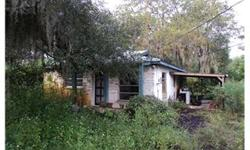 Fixer Upper on more than 1/2 Acre. No closet in bed room. Verify room measurements. Bedrooms: 1 Full Bathrooms: 1 Half Bathrooms: 0 Living Area: 1,128 Lot Size: 0.64 acres Type: Single Family Home County: Pasco County Year Built: 1977 Status: Active