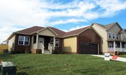 Ranch Style Home ~ Split Bedrooms ~ Open Floor Plan ~ Hardwood Floors ~ Covered Concrete Porch~ Privacy Fence