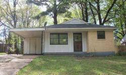 Three bedrooms, one bath home with living room and eat in kitchen with tile floor. One car carport and storage room. Great potential! Listing originally posted at http