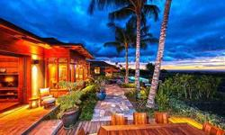 This spectacular property combines pristine natural beauty with state-of-the-art luxury to provide the ultimate tropical hideaway. Harold Clarke is showing 72-2941 Hainoa St in Kailua Kona, HI which has 4 bedrooms / 5 bathroom and is available for