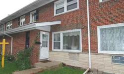 NO ASSESSMENT, BEAUTIFUL 3 BEDROOM BRICK 2 STORY TOWNHOME WITH FINISHED BASEMENT, LIVING ROOM & DINING ROOM AREAS, LOWER LEVEL, 2 CARS ASSIGNED PARKING SPACES. CONVENIENT LOCATION NEAR TOWN, MALLS AND SCHOOLS. PROPERTY IS IN GOOD CONDITION AND READY To